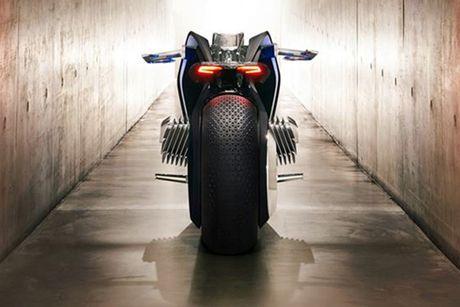BMW Motorrad ra mat moto tuong lai Vision Next 100 - Anh 4