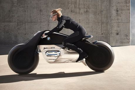 BMW Motorrad ra mat moto tuong lai Vision Next 100 - Anh 6