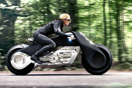 BMW Motorrad ra mat moto tuong lai Vision Next 100 - Anh 8