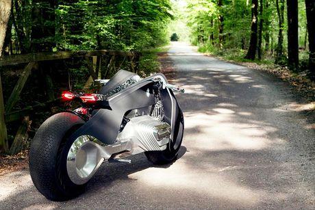 BMW Motorrad ra mat moto tuong lai Vision Next 100 - Anh 9