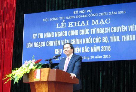 Khai mac Ky thi nang ngach cong chuc nam 2016 khu vuc phia Bac - Anh 1