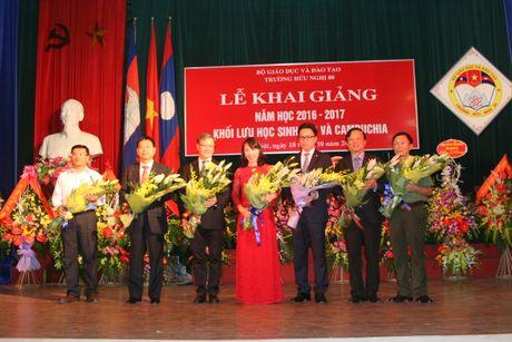 Truong Huu nghi 80 khai giang nam hoc moi khoi luu hoc sinh Lao - Campuchia - Anh 1