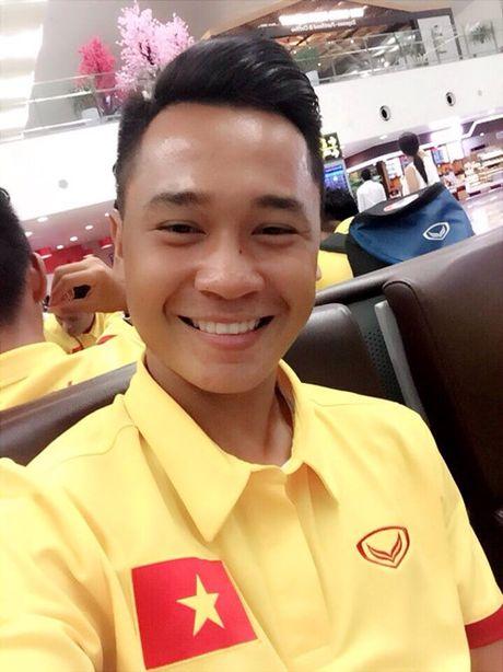 Tuyen thu U.19 Viet Nam Ho Minh Di: Noi nhieu den muc khong the lon duoc! - Anh 2