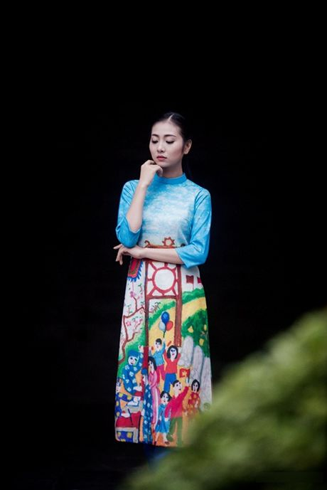 """Ban sao Nguyen Thi Huyen"" lam mau cho Hoa hau Ngoc Han - Anh 1"