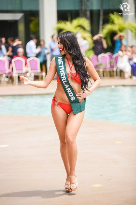 Dien bikini, dan nguoi dep Hoa hau Trai dat lo nhung diem xau kho tin - Anh 8