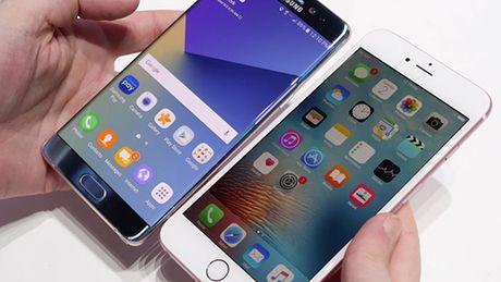 Hang trieu nguoi dang chuyen tu Galaxy Note 7 sang iPhone 7 - Anh 1