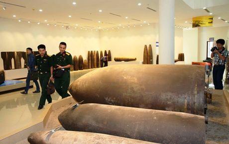 Can canh cac loai bom min truoc Hoi nghi 'Min nhan dao' tai Ha Noi - Anh 2