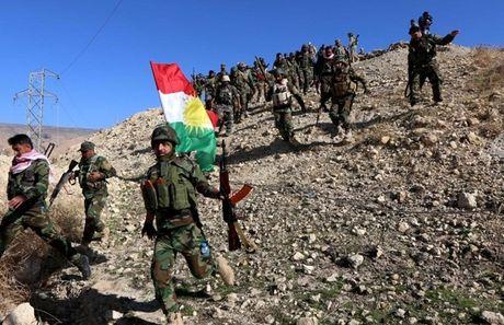 Tu lenh quan doi My bi ban o Raqqa, Luc luong Vu trang Kurd hon loan - Anh 1