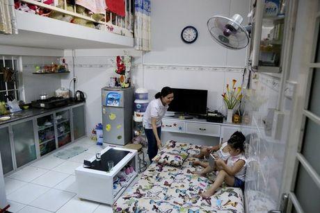 TP.HCM: Hoc tap Binh Duong ve xay nha cho cong nhan gia 100 trieu/can - Anh 1