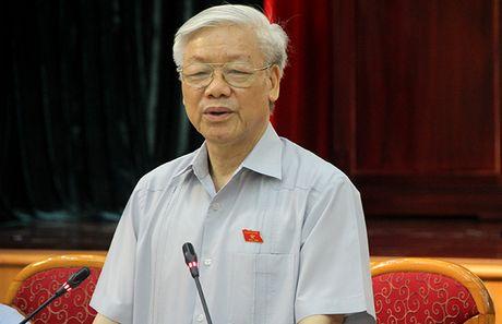 Tong Bi thu: 'Nguoi dung dau tu tung tu tac la hong che do' - Anh 1