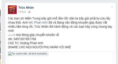'Sao' Viet xuc dong truoc tam long cua Phan Anh - Anh 3