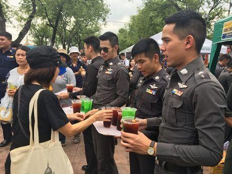 Thai Lan: Phuc vu mien phi cho nguoi dan vao vieng Nha vua - Anh 2