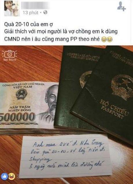 Qua 20/10 som: Chong tang vo mot coc tien va chuyen du lich Nha Trang - Anh 3