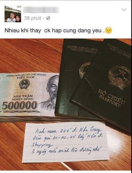 Qua 20/10 som: Chong tang vo mot coc tien va chuyen du lich Nha Trang - Anh 5