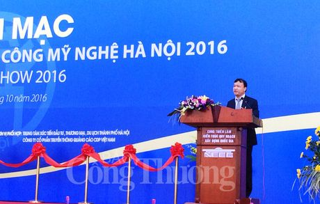 Khai mac Hoi cho qua tang hang thu cong my nghe Ha Noi 2016 - Anh 4