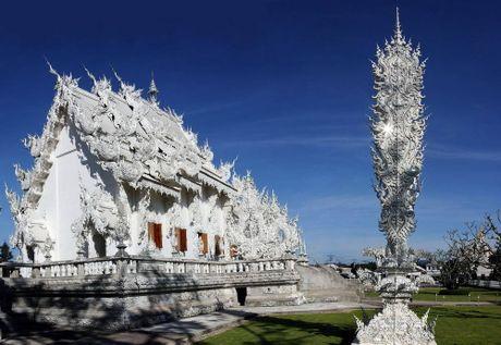 Kham pha Wat Rong Khun ky quan Phat giao trang cua Thai Lan - Anh 3