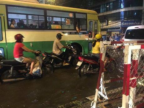 Khong mua nhung Sai Gon van ngap do dot trieu cuong cao nhat nam - Anh 4