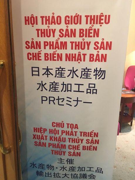Hoi nghi Thuy san bien - San pham thuy san che bien Nhat Ban - Anh 1