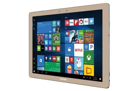 Samsung Galaxy TabPro S Gold Edition: May tinh bang lai laptop cau hinh 'khung' - Anh 3