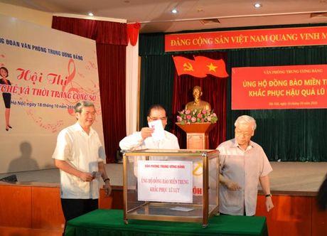 Van phong Trung uong Dang: Ung ho nguoi dan vung lu lut 450 trieu dong - Anh 1