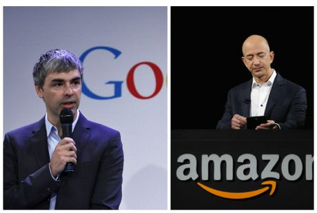 Co phieu Google, Amazon dang chay dua den moc 1.000 USD - Anh 1