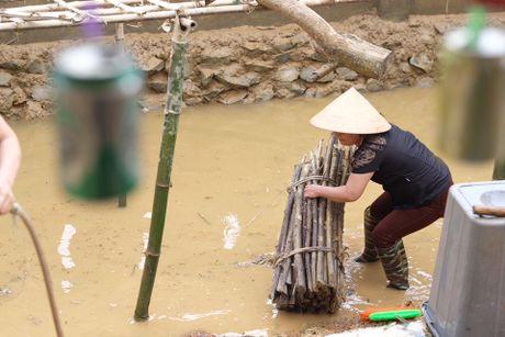 Hoa hau Ngoc Han loi nuoc tu thien tai mien Trung - Anh 7