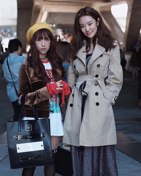 Hoang Ku, Chau Bui, Min cung cac fashionista Viet noi khong kem fashionista Han tai Seoul Fashion Week - Anh 14