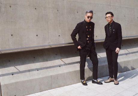 Hoang Ku, Chau Bui, Min cung cac fashionista Viet noi khong kem fashionista Han tai Seoul Fashion Week - Anh 17