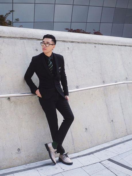 Hoang Ku, Chau Bui, Min cung cac fashionista Viet noi khong kem fashionista Han tai Seoul Fashion Week - Anh 18