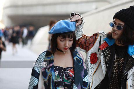 Hoang Ku, Chau Bui, Min cung cac fashionista Viet noi khong kem fashionista Han tai Seoul Fashion Week - Anh 2