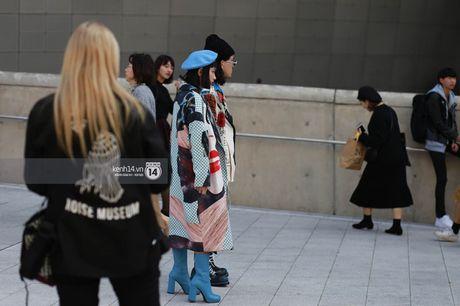 Hoang Ku, Chau Bui, Min cung cac fashionista Viet noi khong kem fashionista Han tai Seoul Fashion Week - Anh 9