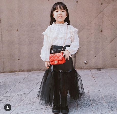 Fashionista hay Ngoi sao? Khong, chinh cac co be cau be nay moi dang 'thong tri' Seoul Fashion Week! - Anh 6