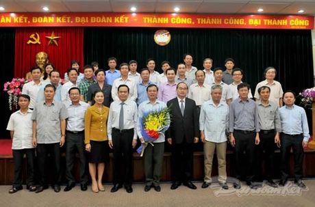 Nguyen Pho Chu tich - Tong Thu ky UBTU MTTQ Viet Nam nghi huu - Anh 10