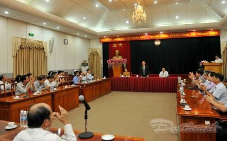 Nguyen Pho Chu tich - Tong Thu ky UBTU MTTQ Viet Nam nghi huu - Anh 1