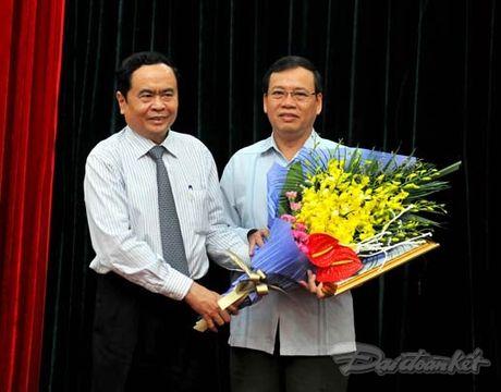 Nguyen Pho Chu tich - Tong Thu ky UBTU MTTQ Viet Nam nghi huu - Anh 4