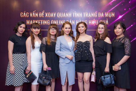 Cong ty my pham Luxury Girl to chuc hoi nghi dao tao dai ly - Anh 3