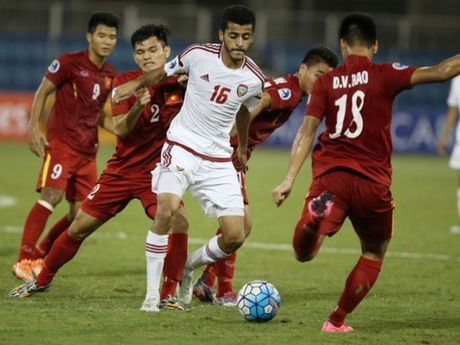 U19 Viet Nam va 5 diem nhan o tran hoa U19 UAE - Anh 2