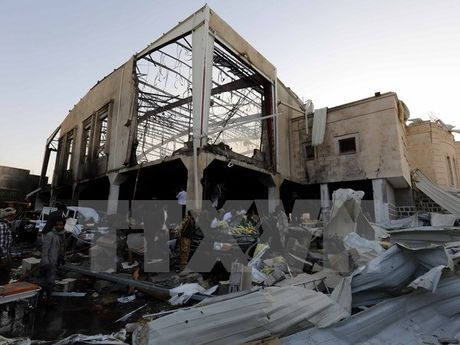 Phien quan Houthi tai Yemen ung ho lenh ngung ban 72 gio - Anh 1