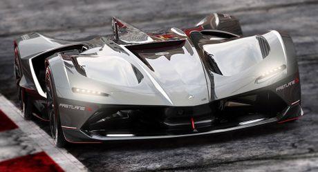 'Ngan ngo' truoc Lamborghini Spectro ban dua khong nguoi lai - Anh 1