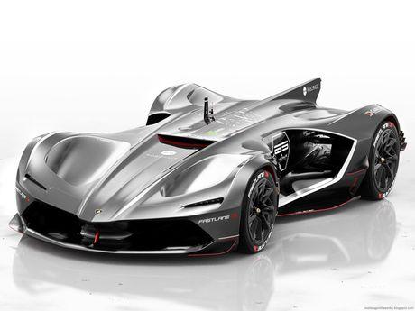 'Ngan ngo' truoc Lamborghini Spectro ban dua khong nguoi lai - Anh 2