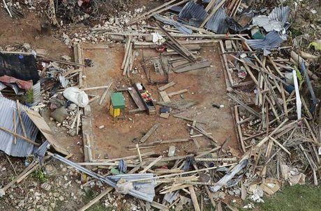 Khung hoang nhan dao o Haiti sau sieu bao Matthew - Anh 6