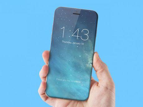 iPhone 8 tich hop cam bien van tay ngay tren man hinh - Anh 1