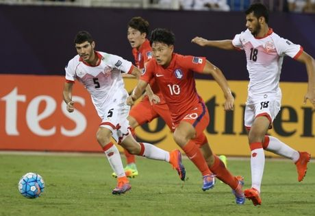 Xem truc tiep U19 Han Quoc vs U19 Saudi Arabia 23h30 - Anh 1