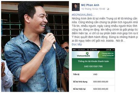 Sao Viet 'rung rung nuoc mat' truoc tam long cua MC Phan Anh - Anh 1