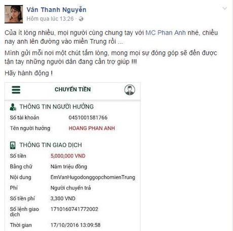 Sao Viet 'rung rung nuoc mat' truoc tam long cua MC Phan Anh - Anh 6