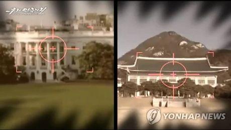 Trieu Tien lai canh bao se nhan chim Han Quoc trong 'bien lua' - Anh 1