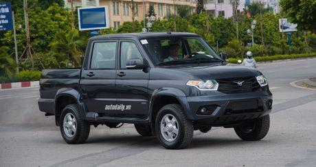Chi tiet UAZ Patriot Pickup gia hon 500 trieu tai Ha Noi - Anh 1