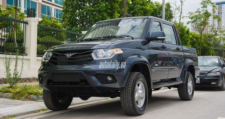 Chi tiet UAZ Patriot Pickup gia hon 500 trieu tai Ha Noi - Anh 23