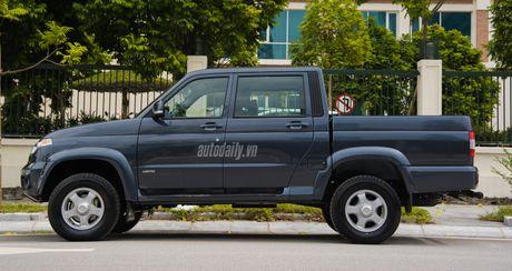Chi tiet UAZ Patriot Pickup gia hon 500 trieu tai Ha Noi - Anh 5