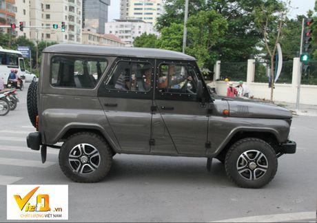 Can canh xe Uaz Hunter - Nga tai Viet Nam, duoc du doan re hon Kia Morning - Anh 1